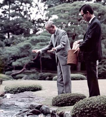 京都真々庵 池のほとり
